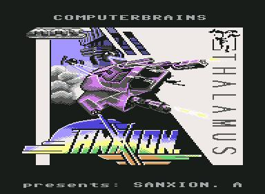 Sanxion - C64 Game
