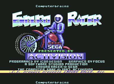 Enduro Racer - C64 Game