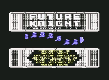 Future Knight - C64 Game