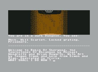 Robin of Sherwood - C64 Game