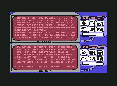 Spy vs Spy - C64 Game