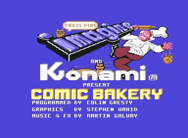 Comic Bakery - C64 Game