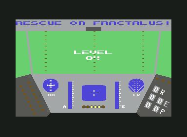 Rescue on Fractalus - C64 Game