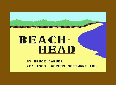 Beach-Head - C64 Game