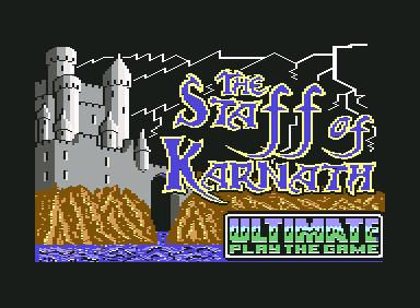 Staff of Karnath - C64 Game