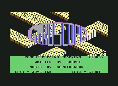Gyroscope - C64 Game
