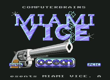 Miami Vice - C64 Game