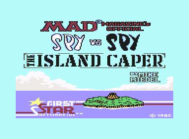 Spy vs Spy II - C64 Game