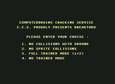Breakthru - C64 Game
